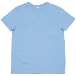 Abbigliamento Uomo T-shirt maniche corte Mantis M01 Azzurro cielo