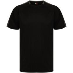 Abbigliamento T-shirt maniche corte Finden & Hales LV290 Nero