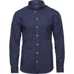Abbigliamento Uomo Camicie maniche lunghe Tee Jays TJ4000 Blu navy