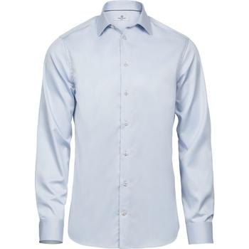 Abbigliamento Uomo Camicie maniche lunghe Tee Jays T4021 Azzurro