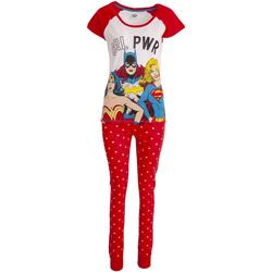 Abbigliamento Donna Pigiami / camicie da notte Justice League  Rosso