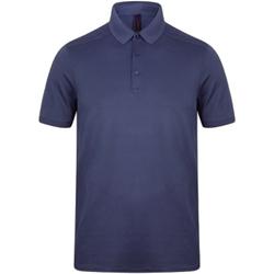 Abbigliamento Uomo Polo maniche corte Henbury HB460 Blu navy