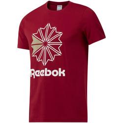 Abbigliamento Uomo T-shirt maniche corte Reebok Sport DH2096 Rosso
