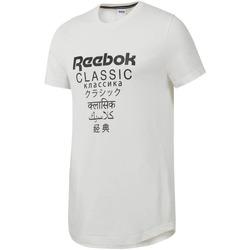 Abbigliamento Uomo T-shirt maniche corte Reebok Sport DJ1893 Bianco