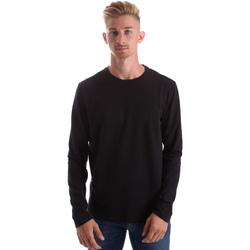 Abbigliamento Uomo T-shirts a maniche lunghe Gas 300187 Nero