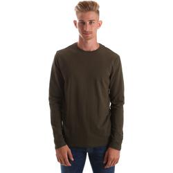 Abbigliamento Uomo T-shirts a maniche lunghe Gas 300187 Verde