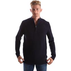 Abbigliamento Uomo Maglioni Gas 561974 Blu
