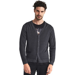 Abbigliamento Uomo Gilet / Cardigan Gaudi 821FU53003 Grigio