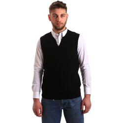 Abbigliamento Uomo Gilet / Cardigan Gaudi 821FU53025 Nero