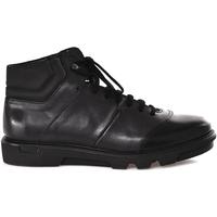 Scarpe Uomo Sneakers alte Soldini 20645 3 Nero