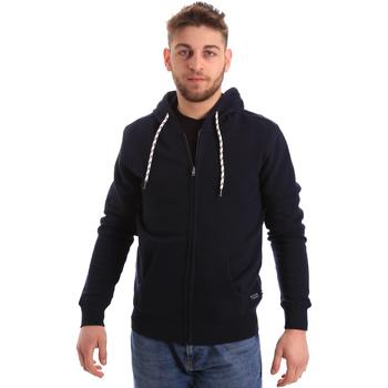 Abbigliamento Uomo Felpe Key Up 2F01I 0001 Blu