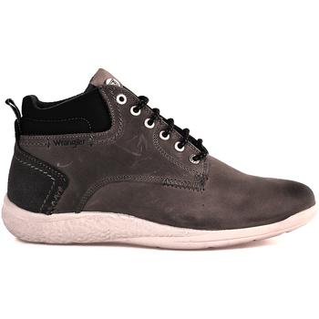 Scarpe Uomo Sneakers alte Wrangler WM182150 Grigio