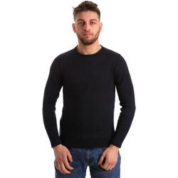 Abbigliamento Uomo Maglioni Bradano 163 Blu
