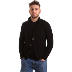 Abbigliamento Uomo Gilet / Cardigan Bradano 165 Nero