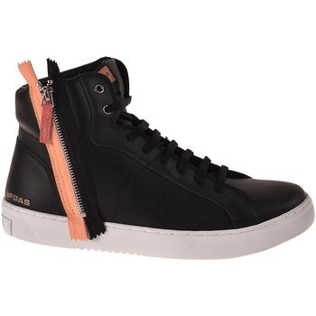 Scarpe Uomo Sneakers alte Gas GAM824085 Nero