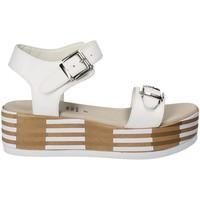 Scarpe Donna Sandali Grace Shoes 56423 Bianco