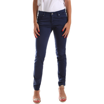 Abbigliamento Donna Pantaloni 5 tasche Gaudi 911BD25010 Blu