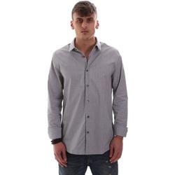 Abbigliamento Uomo Camicie maniche lunghe Calvin Klein Jeans J30J313171 Blu