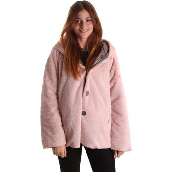 Abbigliamento Donna Parka Byblos Blu 689104 Rosa