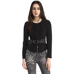 Abbigliamento Donna Giacche / Blazer Gaudi 821FD35004 Nero