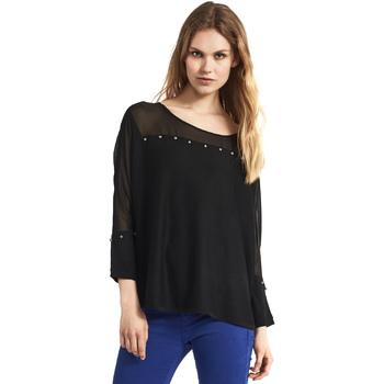 Abbigliamento Donna Maglioni Gaudi 821FD53027 Nero