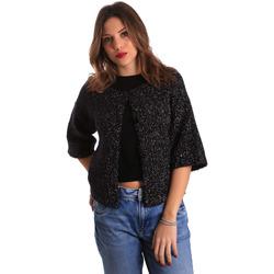 Abbigliamento Donna Gilet / Cardigan Gaudi 821FD53044 Nero