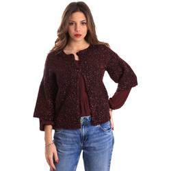 Abbigliamento Donna Gilet / Cardigan Gaudi 821FD53044 Rosso