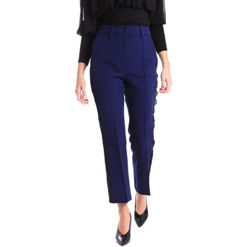 Abbigliamento Donna Chino Denny Rose 821DD20001 Blu