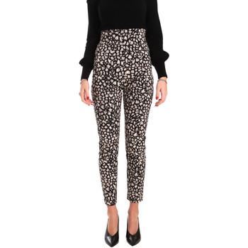 Abbigliamento Donna Pantaloni morbidi / Pantaloni alla zuava Denny Rose 821DD20012 Nero