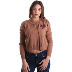 Abbigliamento Donna Gilet / Cardigan Denny Rose 821DD50100 Beige