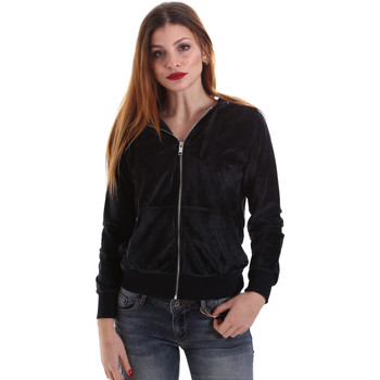 Abbigliamento Donna Felpe Key Up 5CS57 0001 Nero