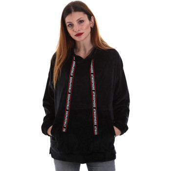 Abbigliamento Donna Felpe Key Up 5CS91 0001 Nero
