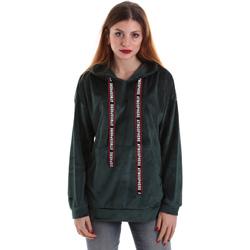 Abbigliamento Donna Felpe Key Up 5CS91 0001 Verde