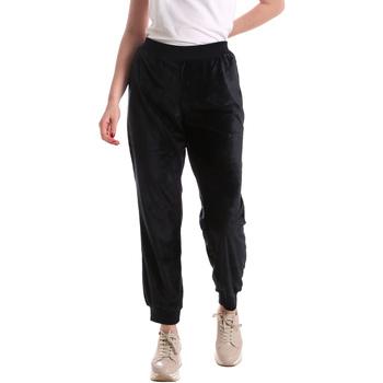 Abbigliamento Donna Pantaloni morbidi / Pantaloni alla zuava Key Up 5CS55 0001 Blu