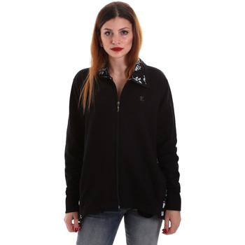 Abbigliamento Donna Felpe Key Up 5FI46 0001 Nero