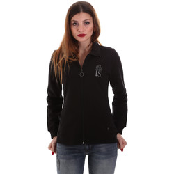 Abbigliamento Donna Felpe Key Up 5EG20 0001 Nero