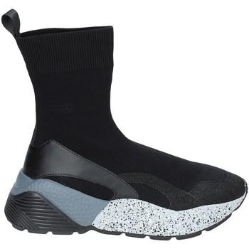 Scarpe Donna Sneakers alte Studio Italia STAR 04 Nero