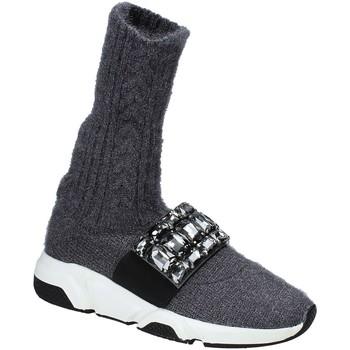 Scarpe Donna Sneakers alte Studio Italia BLANCHE 08 Grigio