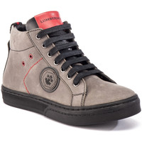 Scarpe Unisex bambino Sneakers alte Lumberjack SB28705 010 B03 Grigio