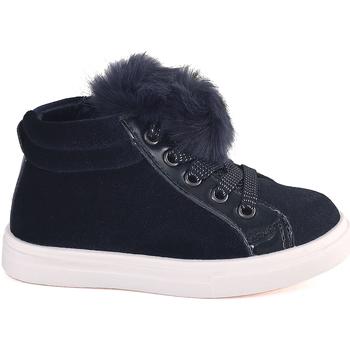Scarpe Unisex bambino Sneakers alte Grunland PP0368 Blu