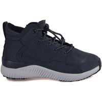 Scarpe Unisex bambino Sneakers alte Grunland PO1085 Blu