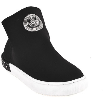 Scarpe Unisex bambino Sneakers alte Holalà HS0015T0002J Nero