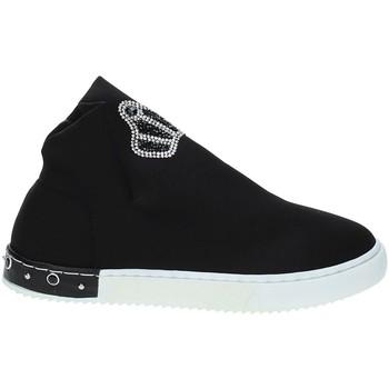Scarpe Unisex bambino Sneakers alte Holalà HS0017T0002J Nero
