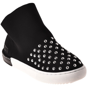 Scarpe Unisex bambino Sneakers alte Joli JS0019T0039J Nero