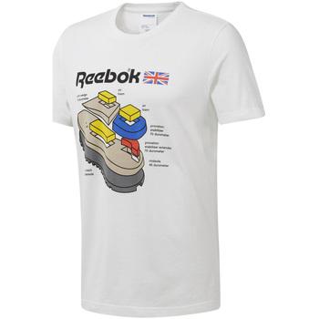 Abbigliamento Uomo T-shirt maniche corte Reebok Sport DT8122 Bianco
