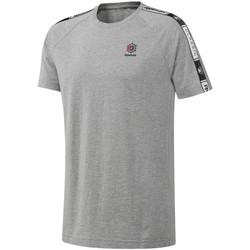 Abbigliamento Uomo T-shirt maniche corte Reebok Sport DT8146 Grigio