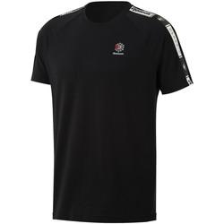 Abbigliamento Uomo T-shirt maniche corte Reebok Sport DT8147 Nero