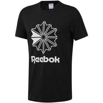 Abbigliamento Uomo T-shirt maniche corte Reebok Sport DT8171 Nero
