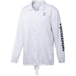 Abbigliamento Uomo Giacche sportive Reebok Sport DT8203 Bianco