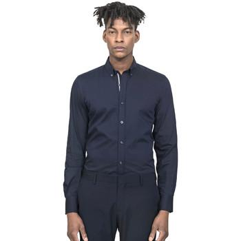 Abbigliamento Uomo Camicie maniche lunghe Antony Morato MMSL00523 FA450001 Blu